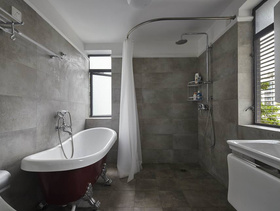 美式复古卫生间设计