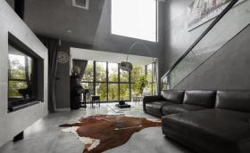 豪华性冷淡风客厅装修设计