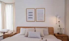 日式原木清新卧室装修设计