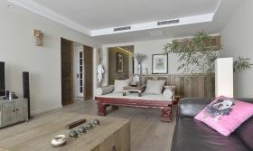 原木经典简约客厅设计