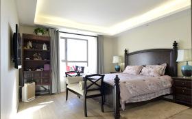 美式简约老人房卧室设计