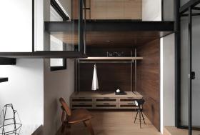 复式整木简约利落卧室设计