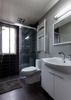 高级现代灰卫生间设计
