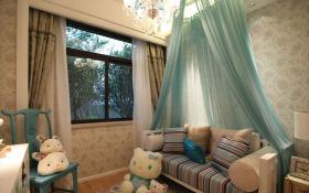 可爱童真欧式儿童房设计