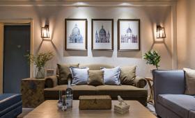 现代简欧客厅设计