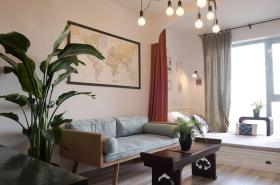 北欧小清新客厅设计