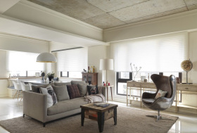 烟灰色系客厅装修设计
