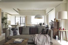 现代民宿风舒适客厅设计