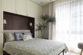 简欧清新优雅卧室设计