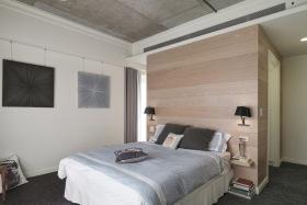 现代简约开放式卧室设计