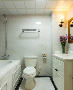 现代简约卫生间设计