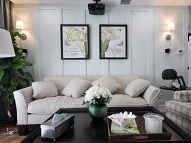 简约美式经典客厅装修设计