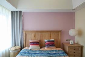 简约优质原木卧室装修