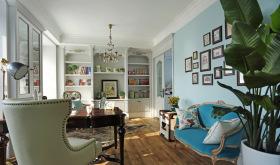 现代简欧卧客厅设计