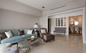 简约和谐温馨客厅装修设计
