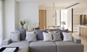 简约日式原木雅致客厅设计