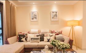 现代田园高雅客厅装饰设计