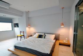 极简性冷淡卧室装修设计