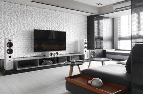 简约潮流个性电视背景墙设计