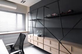 极简风格性冷淡书房设计
