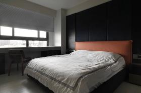 现代极简黑白灰色系卧室设计