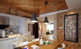 简约全木年轻化潮流餐厅设计