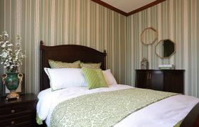 简约清新新中式卧室装饰设计