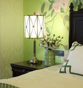 新中式青涩床头柜设计