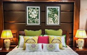 中式复古民族风卧室装修设计