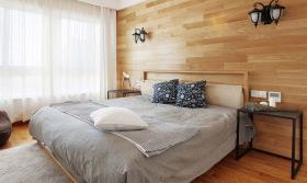简约原木雅致卧室设计