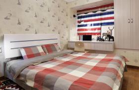 英美现代风卧室装修设计