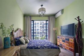新中式民族风卧室装修设计