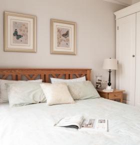 田园复古典雅卧室装饰设计