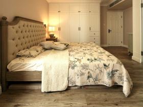美式田园风素色雅致动物元素卧室设计
