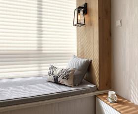 原木日式窗台设计