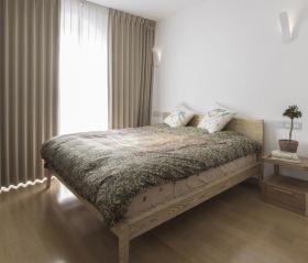 日式原木风卧室装修设计