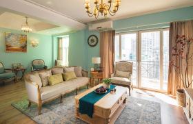 传统复古美式客厅装饰设计