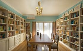 美式简约书房设计
