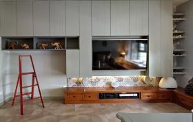 简约朴素电视背景墙设计