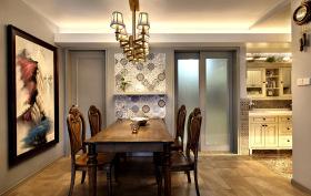 美式典雅餐厅装饰设计