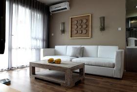 原木风精致化客厅设计