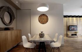 原木风简约餐厅设计