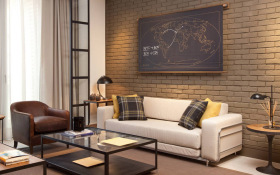 现代舒适客厅装修设计