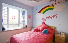 彩色童真儿童公主房设计