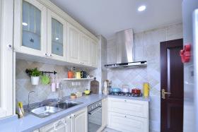 简美清新浅蓝色系厨房设计