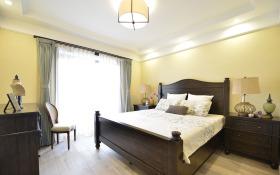 新中式复古卧室设计