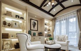 欧式豪华会客厅设计