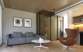 简约现代理性客厅设计