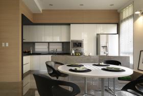 现代简约开放式餐厅厨房设计