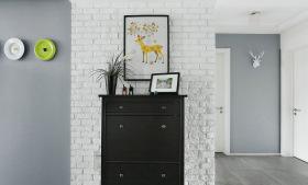 简约北欧玄关装饰柜装修设计